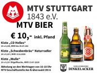 MTV Stuttgart 1843 e.V. - BIER AKTION