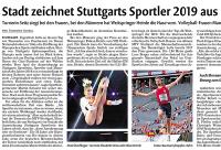 MTV Stuttgart 1843 e.V. - Sportler des Jahres