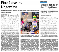 MTV Stuttgart 1843 e.V. - Allianz MTV will die Championsleague