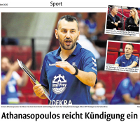 MTV Stuttgart 1843 e.V. - Volleyballtrainer kündigt
