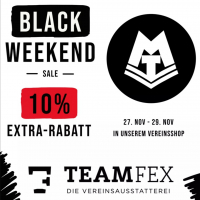MTV Stuttgart 1843 e.V. - Black Friday-Aktion unsers Partners Teamfex