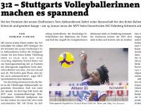 MTV Stuttgart 1843 e.V. - MTV-Team macht es spannend