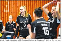 MTV Stuttgart 1843 e.V. - Erster Sieg 2021