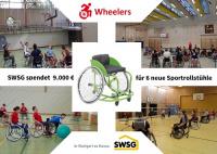 MTV Stuttgart 1843 e.V. - SWSG spendet 9000€ an die Wheelers