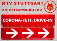 MTV Stuttgart 1843 e.V. - Corona Schnelltest Drive In