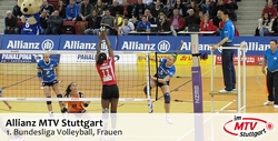 Allianz MTV Stuttgart - 1. Bundesliga Volleyball, Frauen