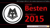 MTV Stuttgart 1843 e.V. - MTV Sportler des Jahres
